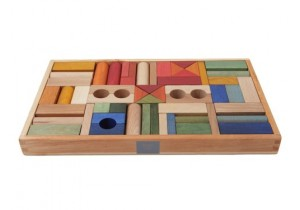RAINBOW BLOCKS 54pcs (in tray)