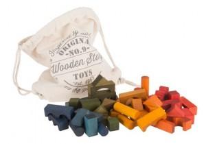 RAINBOW BLOCKS 100pcs (in sack)