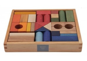 RAINBOW BLOCKS 30pcs (in tray(