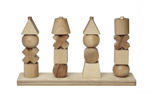 NATURAL STACKING TOYS