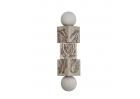 Twist the blocks Commedia dell'arte Kolorowy