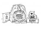 HAPPY,LOVE