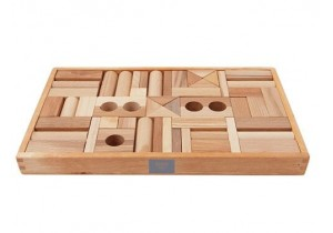NATURAL BLOCKS 54pcs (tray)