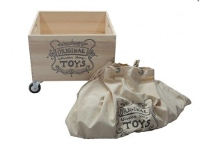 SACK FOR WOODEN STORY CRATE ON WHEELS- 2